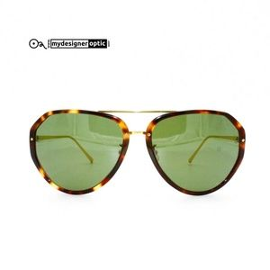 Linda Farrow Sunglasses LFL/463/3 62-17-140 Made i